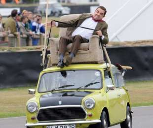 O mini de Mr Bean